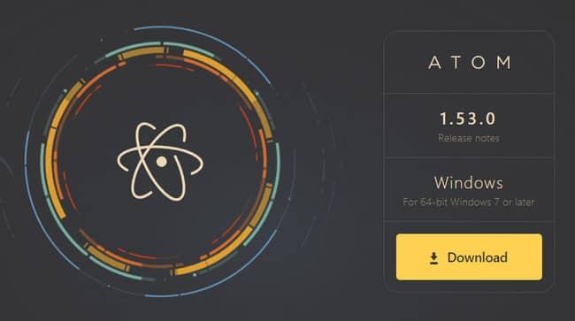 Phần mềm lập trình đa ngôn ngữ - Atom