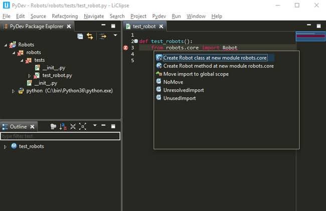IDE Python - PyDev
