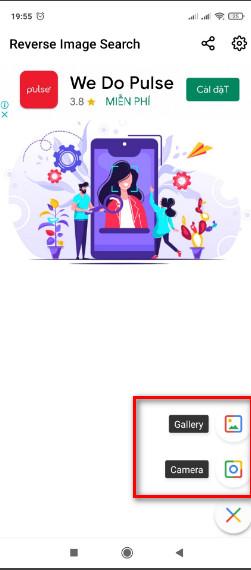 App tìm kiếm hình ảnh trên google