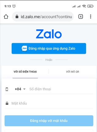 Cách đăng nhập 2 tài khoản zalo trên iphone