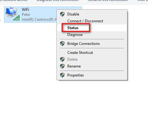 Xem mật khẩu wifi trên PC