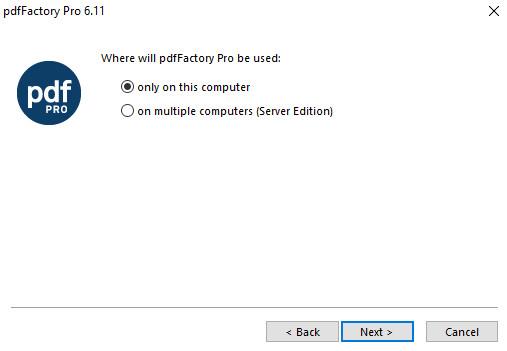 Cách cài đặt Pdffactory -2