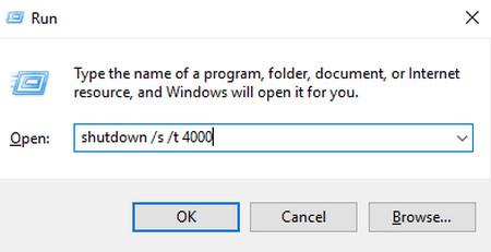 Lệnh hẹn giờ tắt laptop tự động