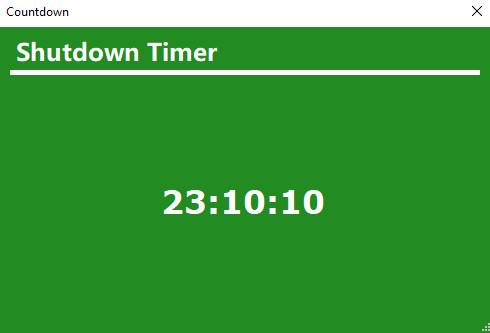 Shutdown Timer Classic - 1