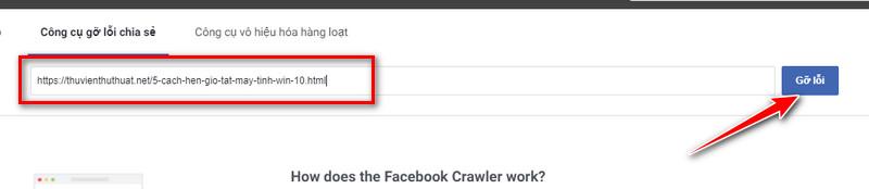 Bước 3 - Cách sử dụng debug facebook