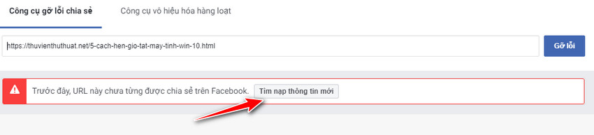 Bước 4 - Cách sử dụng debug facebook