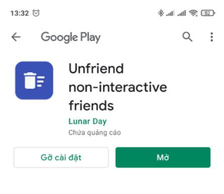 Cách lọc bạn bè không tương tác trên điện thoại