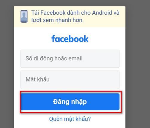 Lọc bạn bè facebook trên điện thoại