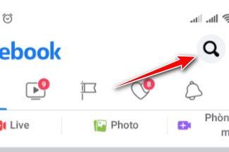 Cách tìm nick facebook bằng số điện thoại