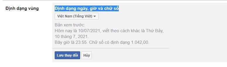 Cách chỉnh ngôn ngữ facebook trên máy tính - 4