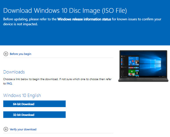 Cách download win 10 file iso- 5