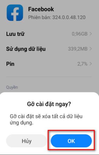 Lỗi không xem được video facebook trên Android