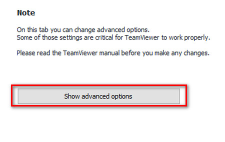 Sửa lỗi không kết nối được teamviewer - 3