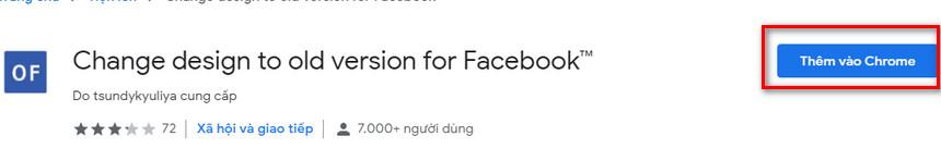 Cách quay trở lại phiên bản facebook cũ