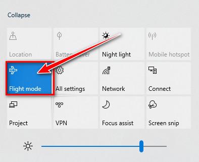 Cách tắt chế độ máy bay trên laptop - 2