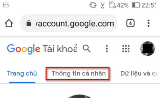 Cách đổi tên gmail trên điện thoại - 2