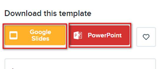 Cách download slide trên  slidesgo