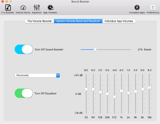 Phần mềm tăng âm lượng laptop Sound booster